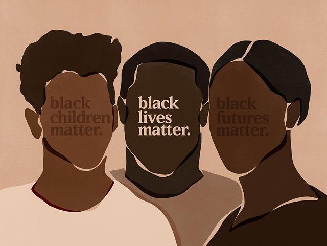 Black Lives Matter Illustration by Sacree Frangine