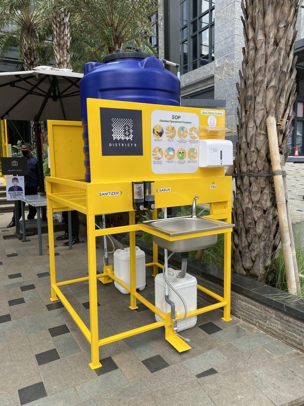 Portable Hand Washing Facility